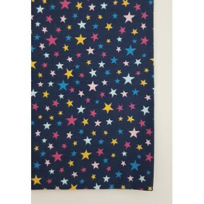 Capa de Almofada Estrelas Azul Marinho