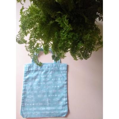 Mini Ecobag Foguetes