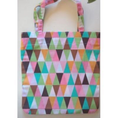 Mini Ecobag Triângulos